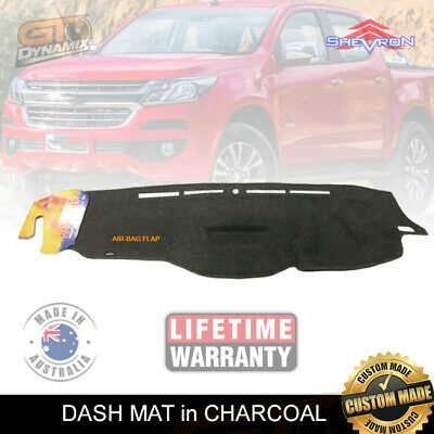 Dash Mat Holden Colorado Rg My17 Ls-Lt-Ltz-Z71 8/2016-17 No-Hud Dm1443 Charcoal