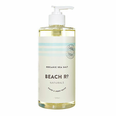 NEW Organic Sea Salt hand & body wash by Beach Road Naturals