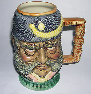 Character Jug German Kaiser ? Large 18.5 cm x 18cm - Unmarked - EXC COND