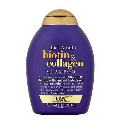 OGX Thick & full Biotin and Collagen Shampoo 385 ml (13oz)