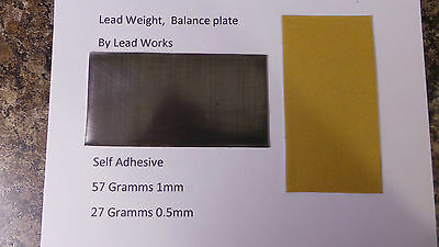 Swing Weight Balance Plate  Lead weight  NEW Lead tape Best value.. low post