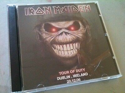 Iron Maiden Double CD Dublin Ireland A Matter Of Life And Death Tour 2006