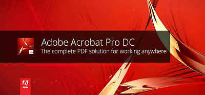 Adobe Acrobat Pro Dc Mac-Windows
