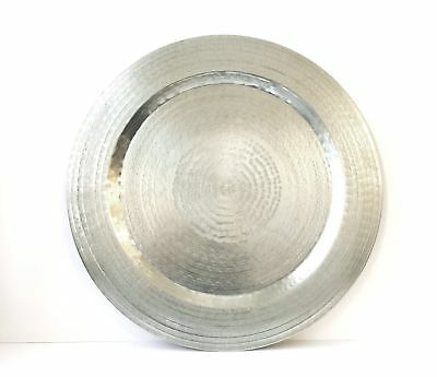 Hand Hammered Aluminium Tray ***LAST TWO***