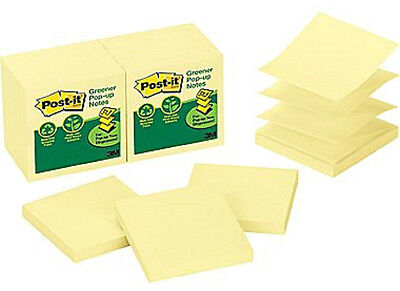 Post-it Pop-up Notes Dispenser Refills - 3in x 3in - 12 in pack