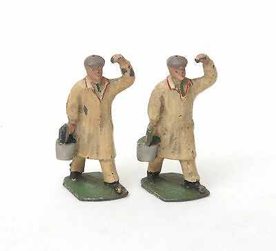Vintage Lead Hornby Series Modelled Miniatures Dinky Hall's Distemper Painters