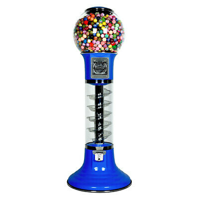 Wiz - Kid Spiral Gumball Vending Machine - Blue