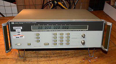 TESTED HP 5350A 10HZ - 20GHz MICROWAVE FREQUENCY COUNTER HIGH STAB. OPTION 010
