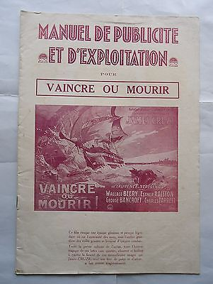 SILENT FILM/OLD IRONSIDES/WALLACE BEERY /S4F/ french press book