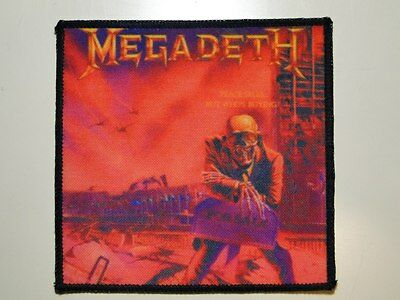 MEGADETH Peace Sells... printed NEW patch thrash metal