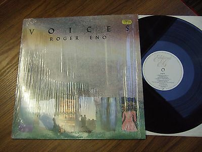 Roger Eno - Voices - Uk Lp Editions Eg Eged 42 / 1985  Opened Shrink Wrap Ex+