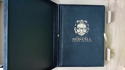 The art of uncharted 2 limited folio edition 144/200
