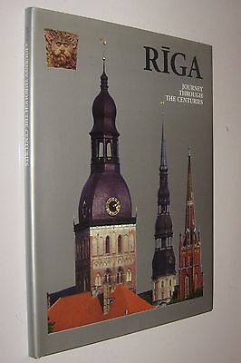 Riga - Journey Through The Centuries - Gran Tamaño Y Muy Ilustrado - En Ingles *
