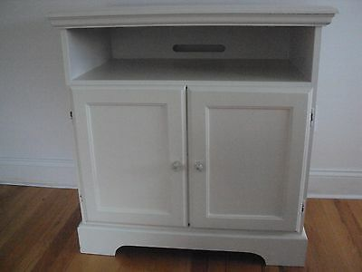 White Cabinet, Tv Stand, Side Table