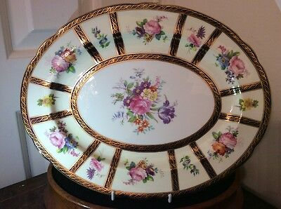 FANTASTIC QUALITY PARAGON PLATTER - REPRODUCTION FOR QUEEN MARY - 30 x 24 cm