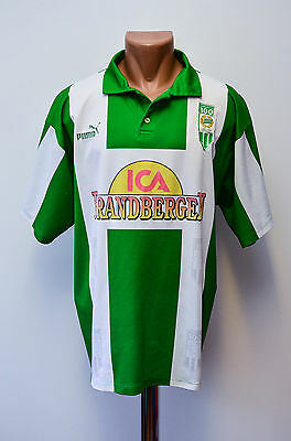Hammarby If Switzerland 1996/1997 Home Football Shirt Jersey Puma #100