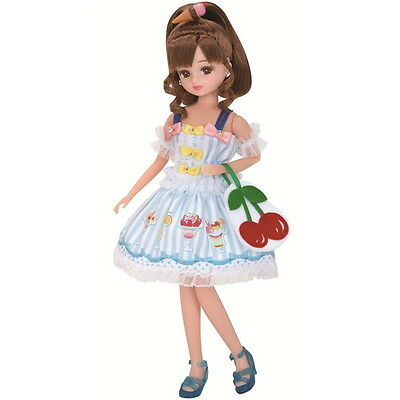 """Licca Doll Fruit Parlor 9"""" (new without box) Takara Japan LD-06 new"""