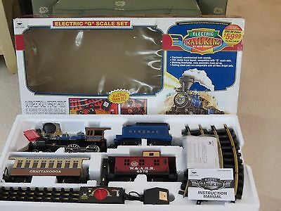 Railking By New Bright Electric Train Set G Scale 110 Volt No. 376 1997 Mib