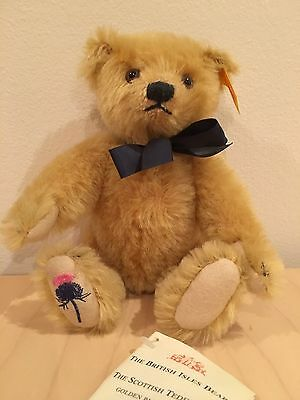 Steiff Scottish Teddy Bear, from the British Isles collection