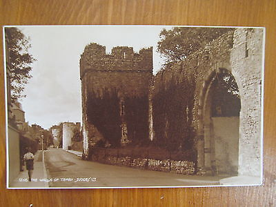 The Walls Of Tenby old Judges 12116 postcard