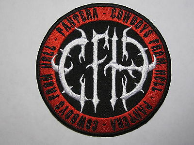 PANTERA CFH Cowboys From Hell embroidered NEW patch