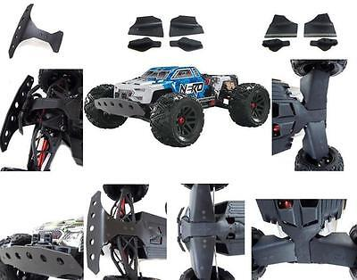 TBR REAR A and B -ARM Front A-SKIDS + Bumper ARRMA NERO 6S 10038 + 10039 + 10040