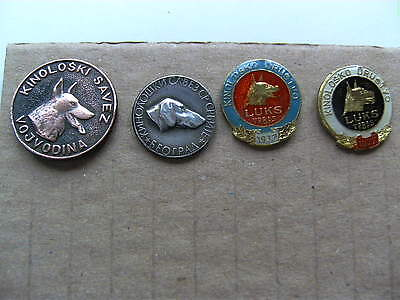 Kennel  alliance Vojvodina, Serbia,  Kennel Club Luks Vrbas lot 4 pin badge