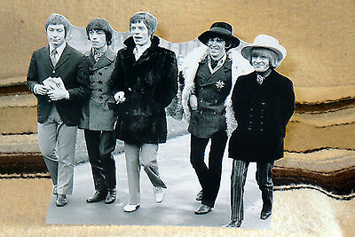 """The Rolling Stones British Rock Group Tabletop Standee 8 1/4"""" Tall"""