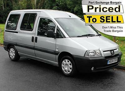 2004(04) Peugeot Expert 1.9D Wheelchair Accessible Vehicle