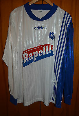 Lausanne Sport Switzerland No Match Worn Issue Football Shirt Jersey Adidas #11