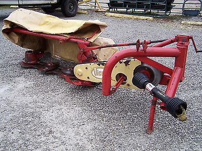 Nice Used Vicon CM 135 -- 4.5 Ft Disc Mower,  Can ship @ $1.85 per mile.