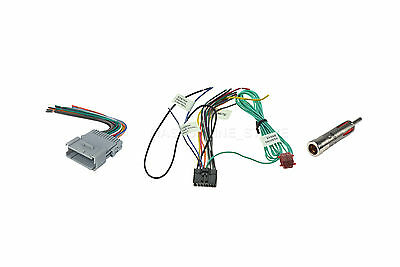 CHEVROLET CAR STEREO Wiring Harness Wire Pioneer Avh-X1500Dvd Radio on