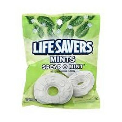 Life Savers Spear O Mints, 6.25 Ounce -- 12 per case.