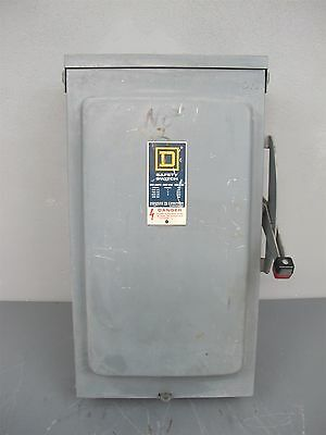 Square D Heavy Duty Safety Switch Disconnect 200A 600VAC 250VDC