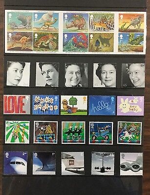 {BJ Stamps} Great Britain 2002 Year Pack.14 Mint Never Hinged items, Cat.$154.55