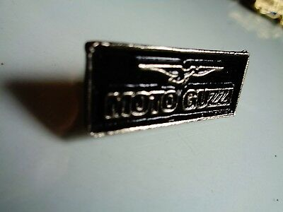 Classic Moto Guzzi Emblem Pin Motorcycle Jacket Vintage Factory Vest Hat Badge