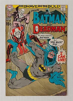 BRAVE AND THE BOLD 86 | Neal Adams artwork | DC 1969 | Batman & Deadman | FN-