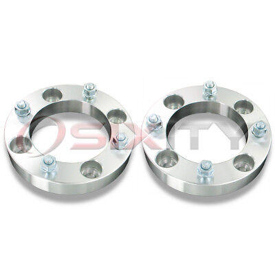"""2pc 1.25"""" Can-Am Renegade 500 800 4/137 Front Wheel Spacers 1 1/4 Inch ATV"""