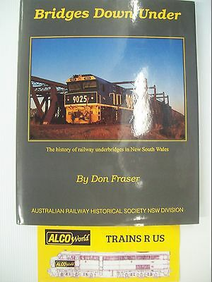 BRIDGES DOWN UNDER-hard cover-used