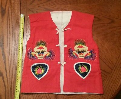 Child's Souvenir Vest from China