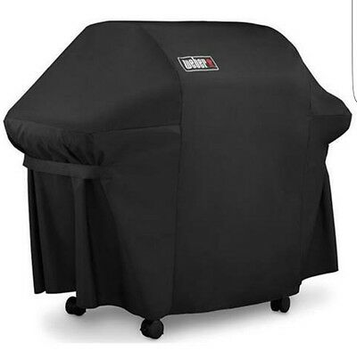 Grill Cover With Storage Bag For Genesis Gas Grills Weber 7107 NEW