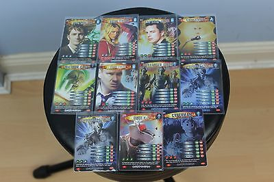Doctor Who Battles in Time Trading Card Game Exterminator Rare Bundle