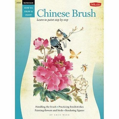 Walter Foster Watercolor How to Draw & Paint - Chinese Brush
