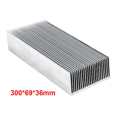 Super New Silver Heatsink Cooling Radiator Heat Sink For IC Transistor Power MOS
