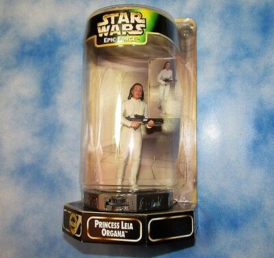 Star Wars Epic Forces Princess Leia 6in MINT IN BOX Nice Box