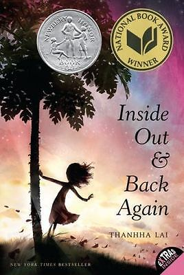 Inside Out & Back Again by Thanhha Lai  **NEW** Softcover