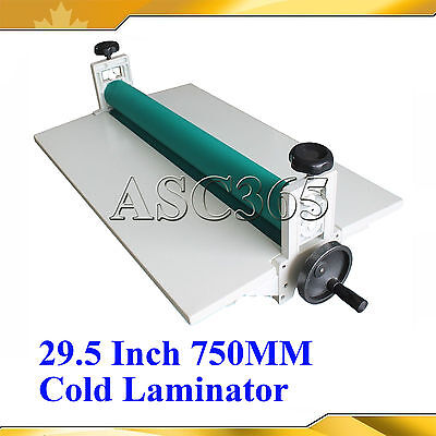 "29.5""Manual Cold Laminator Laminating Machine Vinyl Mounting Brand New"