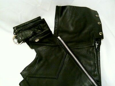 Harley Davidson Motorcycle Chaps Womens Size S  NWOT