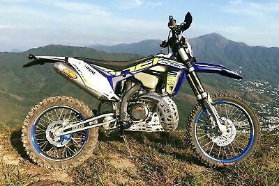 Sherco 250/300Se-R 2013 To 2018 Duel Gravity Alloy Bashplate/ Pipe Guard- Carapa
