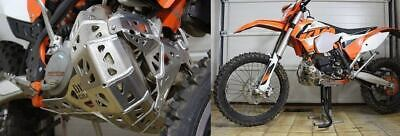 Ktm 250Exc 2013 To 2016 Duel Gravity Alloy Bashplate/ Pipe Guard- Carapaks